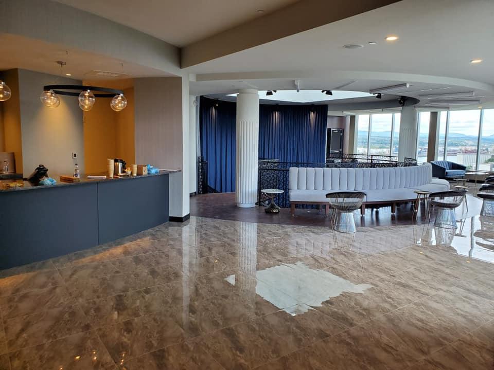 Lobby et bar de l'hôtel du capitole - Savard concept